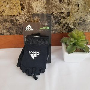 adidas Essential Gloves, White, Small